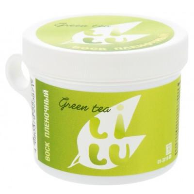 Воск плёночный в банке для СВЧ, 100 гр LILU 05 Green tea
