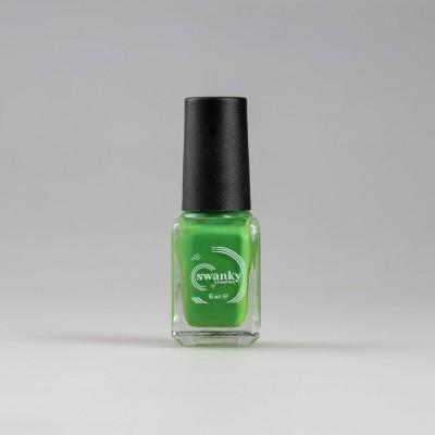 Лак для стемпинга Swanky Stamping S48, classic green 6 мл
