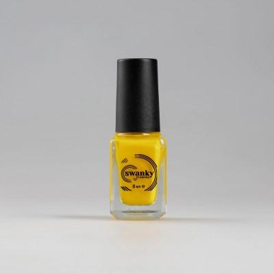 Лак для стемпинга Swanky Stamping S50, lemon chrome 6 мл