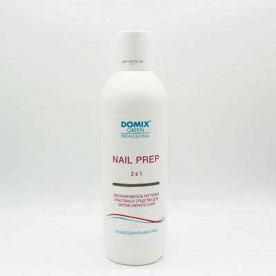 NAIL PREP LUX 2 в 1 Обезжириватель ногтевой пластины и средство для снятия липкого слоя 500 мл