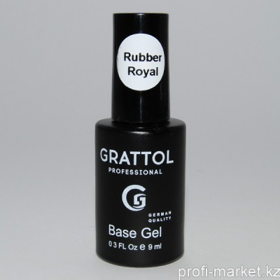 База Каучуковая Rubber Base Gel ROYAL Grattol (средне густая)