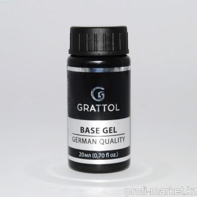 База Каучуковая 20мл Rubber Base Gel Grattol