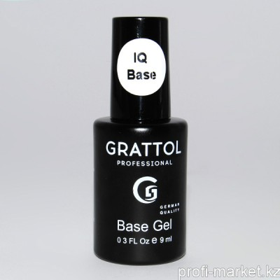 База Каучуковая IQ Rubber Base Gel Grattol 9ml