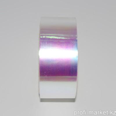 "Декор ""Битое стекло"" в рулоне (2,5 см x 100 м) (04 Светлое розово-золотое)"