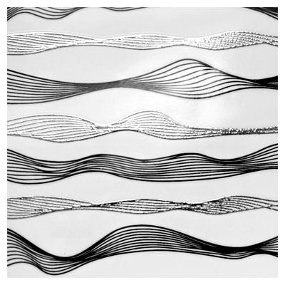 Лента-волна гибкая  для дизайна (002)