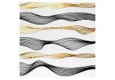 Лента-волна гибкая  для дизайна (004)