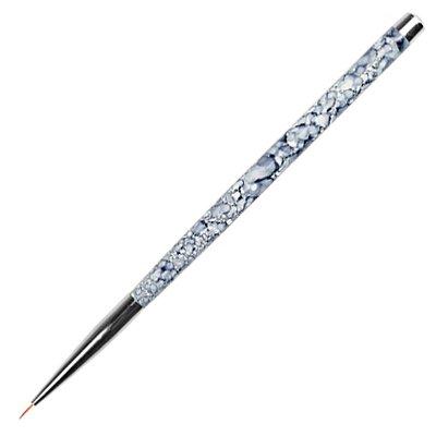 Кисть для прорисовки ультратонкий ворс № 1 (02 Мраморная ручка)