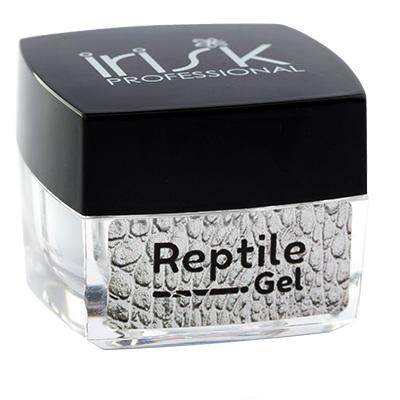 Гель-лак Reptile Gel основа для дизайна, 5мл (02 СЕРЕБРО)