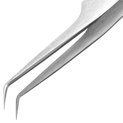 Пинцет для ресниц L-3, длина 11,5см (ручная заточка)