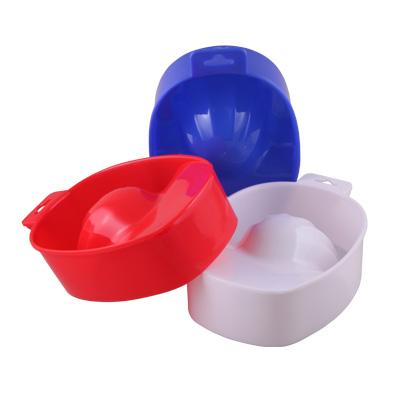 Ванночка для маникюра пластиковая (цвета в ассорт.)