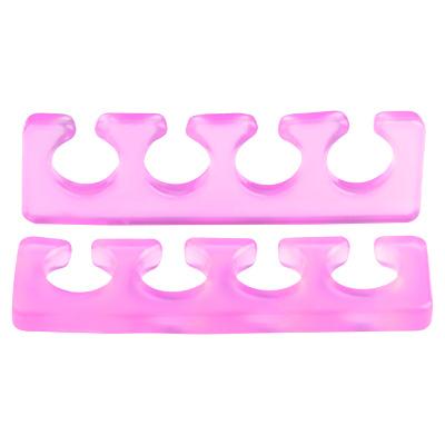 Расширитель для пальцев IRISK силиконовый, 2шт. [Б] (02 Прозрачно-малиновый)