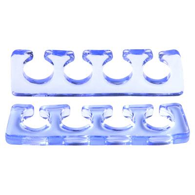 Расширитель для пальцев IRISK силиконовый, 2шт. [Б] (03 Прозрачно-голубой)