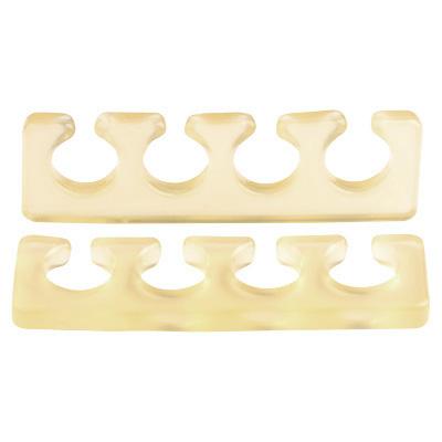 Расширитель для пальцев IRISK силиконовый, 2шт. [Б] (04 Прозрачно-желтый)