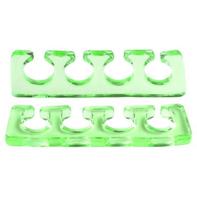 Расширитель для пальцев IRISK силиконовый, 2шт. [Б] (05 Прозрачо-зеленый)