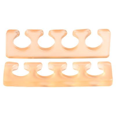 Расширитель для пальцев IRISK силиконовый, 2шт. [Б] (06 Прозрачно-оранжевый)