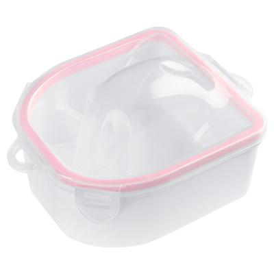 Ванночка для маникюра (сохраняет температуру) (02 Розовый ободок)