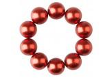 Набор магнитных шариков для дизайна гель-лаком Кошачий глаз, 10 шт. (05 Красные)
