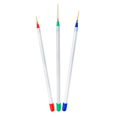 Набор кистей-страйперов для nail-art, 3 предмета
