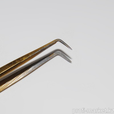 Пинцет для ресниц L-1, 11,5 см (ручная заточка)