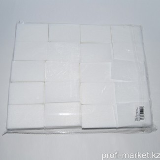 Салфетки безворсовые плотные, 4х6см, 1000шт.