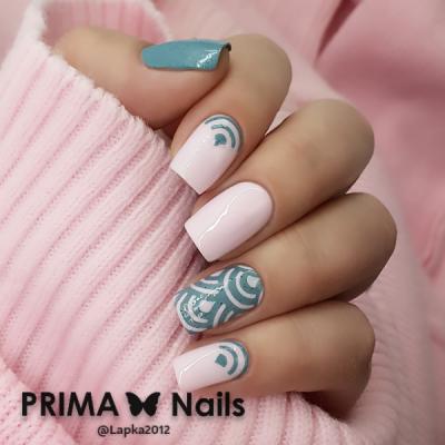 Трафарет для дизайна ногтей PrimaNails. Япония