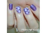 """Трафарет для дизайна ногтей PrimaNails. Принт """"Крестики"""""""