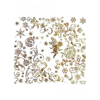 Слайдер-дизайн F103 золото