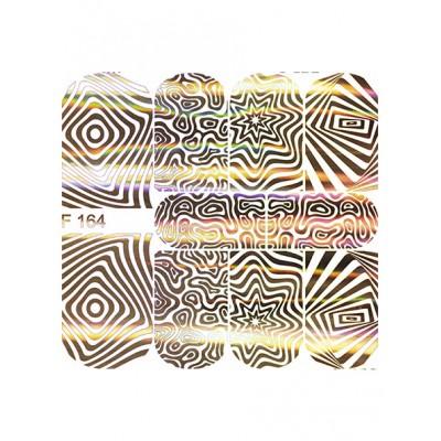 Слайдер-дизайн F164 золото гологр