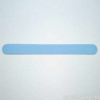 Одноразовый файл для маникюра (мелкая крошка) 240 грит (голубой) 18см с уплотнителем (в упаковке 10 шт.)
