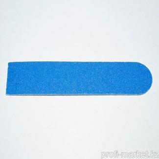 Одноразовый файл для маникюра 120 грит (синий) 8 см с уплотнителем (в упаковке 10 шт.)
