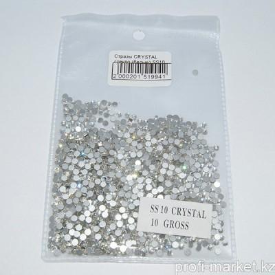 Стразы CRYSTAL стекло (белые) SS10