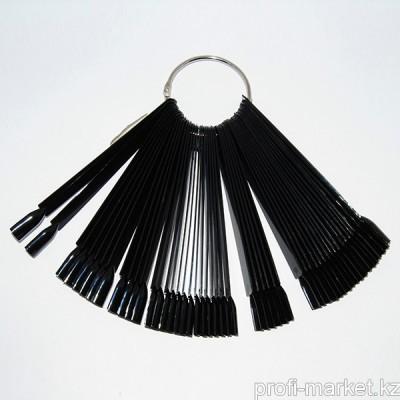 Типсы веерные 50 шт (черные)