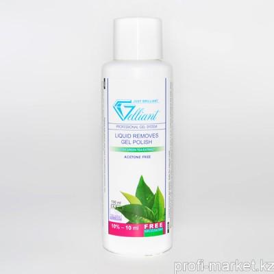 Жидкость для снятия гель-лака с экстрактом Зеленого чая GELLIANT  100мл