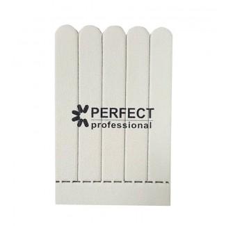 Пилка д/нат ногтей в блоке 5 шт, 100/180, 5  блоков/упаковка, Корея