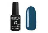 Гель-лак Grattol Color G Polish - тон №03 Blue