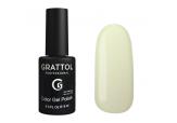 Гель-лак Grattol Color G Polish - тон №114 Pale Yellow