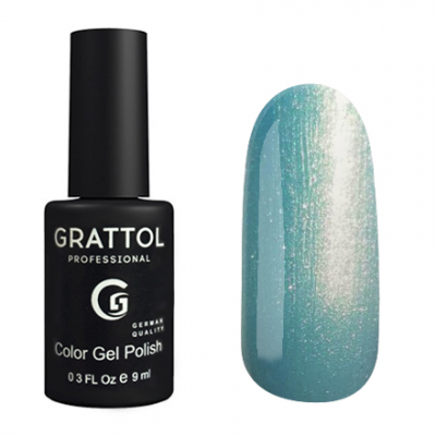 Гель-лак Grattol Color G Polish - тон №123 Blue Pearl