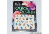 Наклейки Quick Design переводные