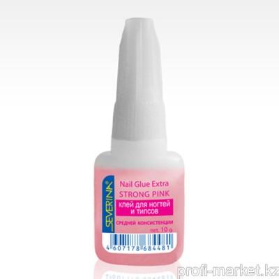 Клей средней консистенции с кисточкой (розовый) 10гр