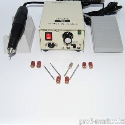 Стартовый набор для аппаратного маникюра (машинка STRONG)