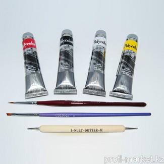 Стартовый набор для китайской росписи (краски POLYCOLOR)