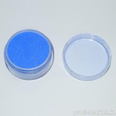 Бархатный песок синий. Баночка 7,5 гр.