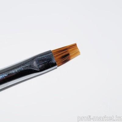 Кисть для омбрэ с деревянной ручкой