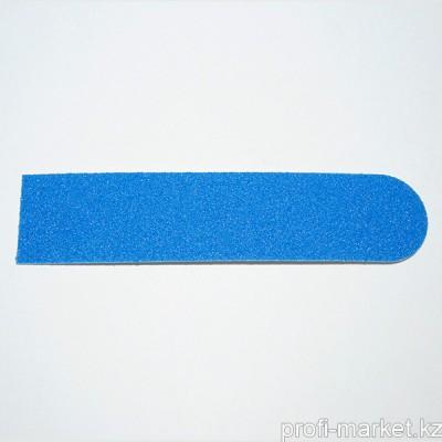 Одноразовый файл для маникюра 120 грит ТОНКИЙ (синий) 8 см (в упаковке 10 шт.)