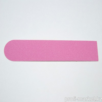 Одноразовый файл для маникюра 180 грит ТОНКИЙ (розовый) 8 см (в упаковке 10 шт.)