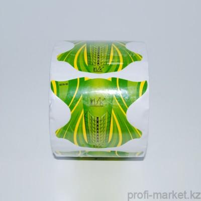 """Формы в рулоне """"IRISK"""" (Желто-зеленые), 500 шт NEW"""